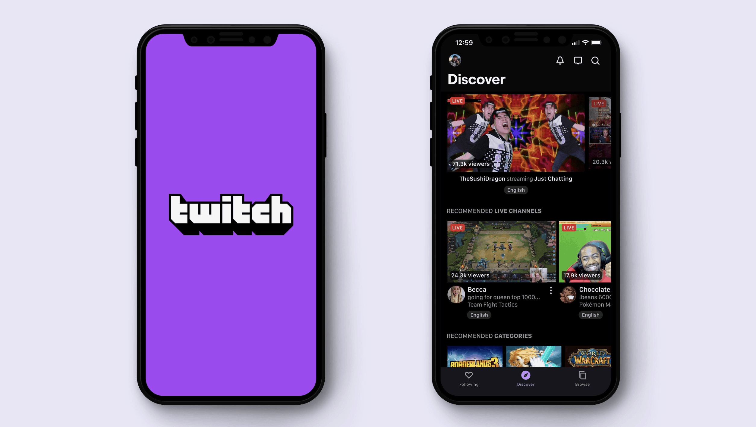 Subscribe Option Added to iOS Twitch App for $1 More