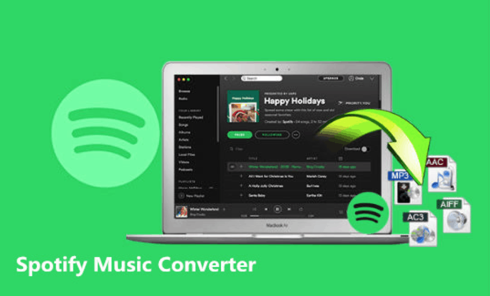5 Spotify Downloader Online Convert Music to mp3, flac, m4a