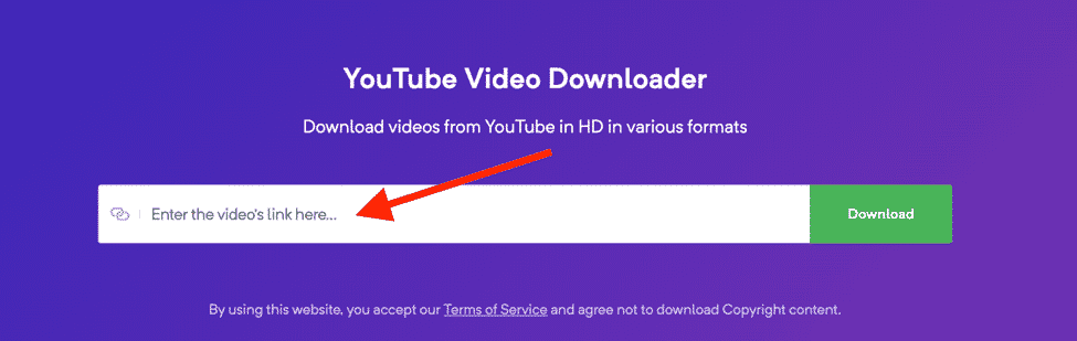 YouTube video downloader platform