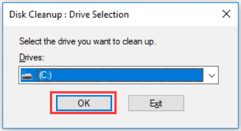 system drive
