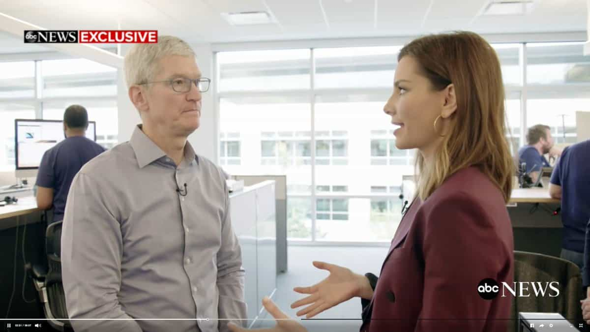"31"" iMac leaks in an interview with Tim Cook 1"