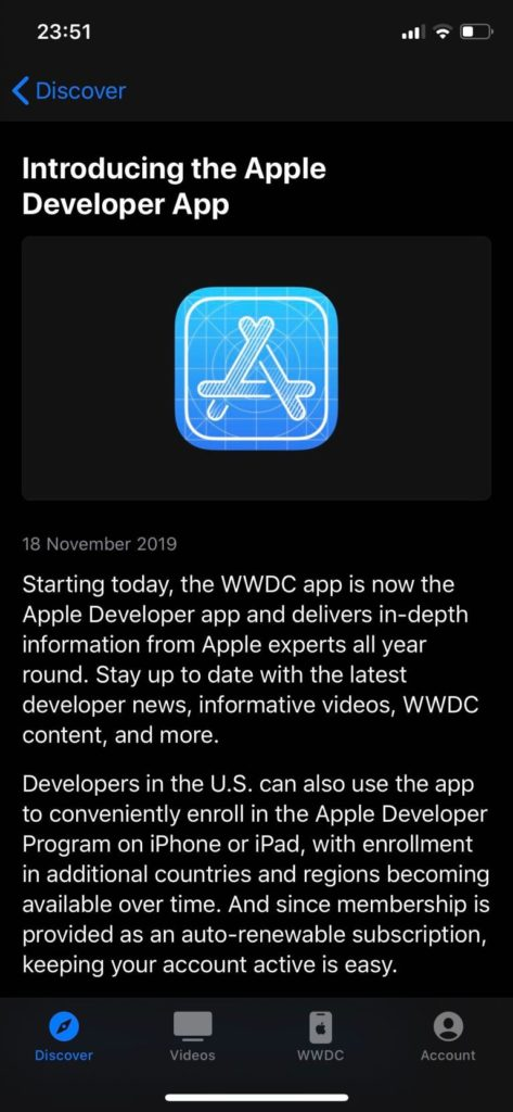 WWDC App Updated with New Name and Content 1