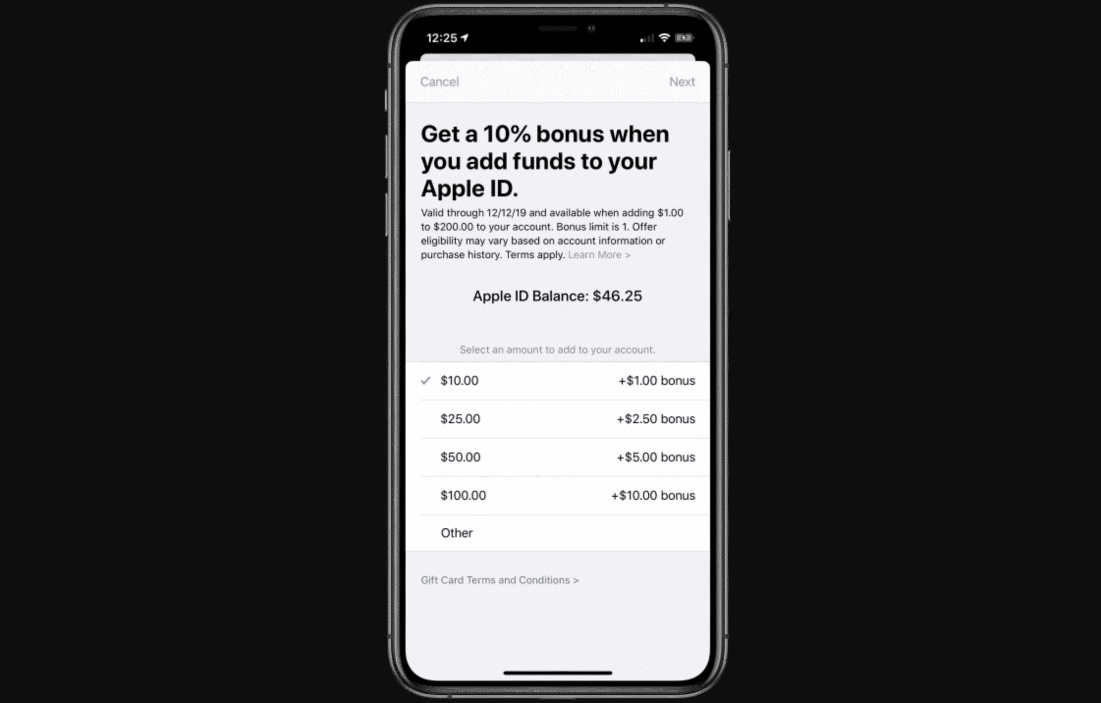 Apple Users can Get Extra 10% iTunes Credit By Adding Funds to Apple ID