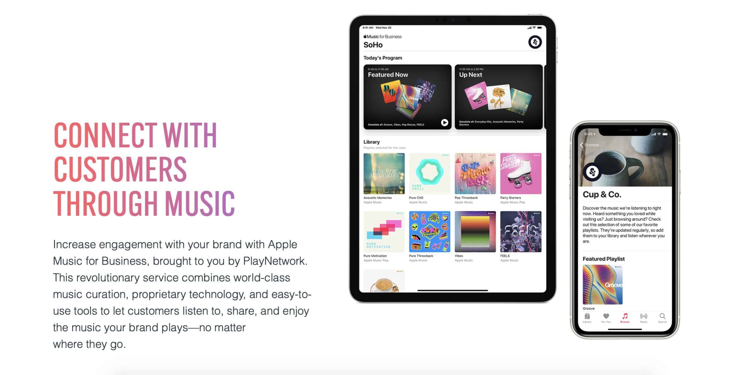 Apple's 'Music for Business' Targets Retail Stores, Launched