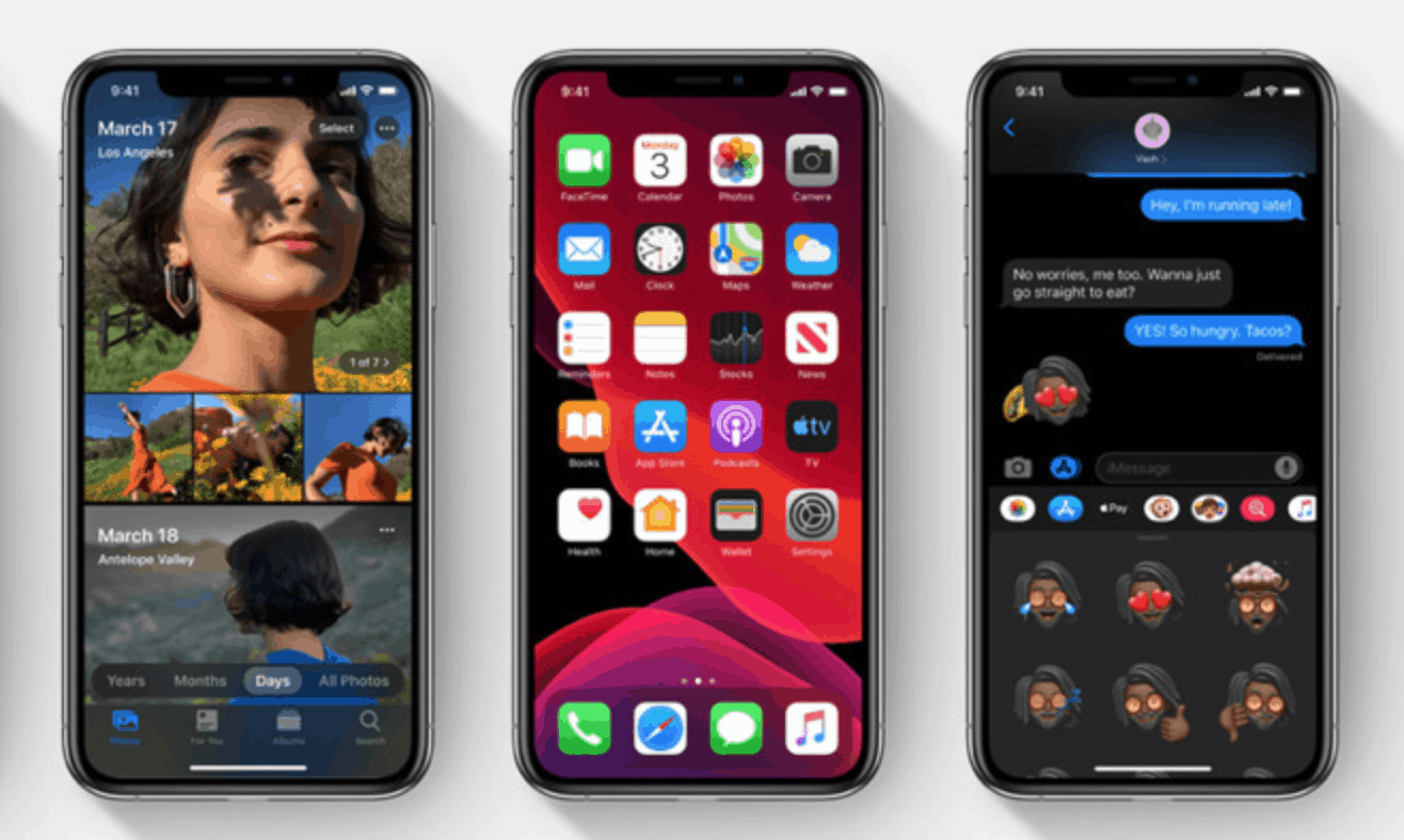 Beta Versions for watchOS, tvOS, iPadOS and iOS Released