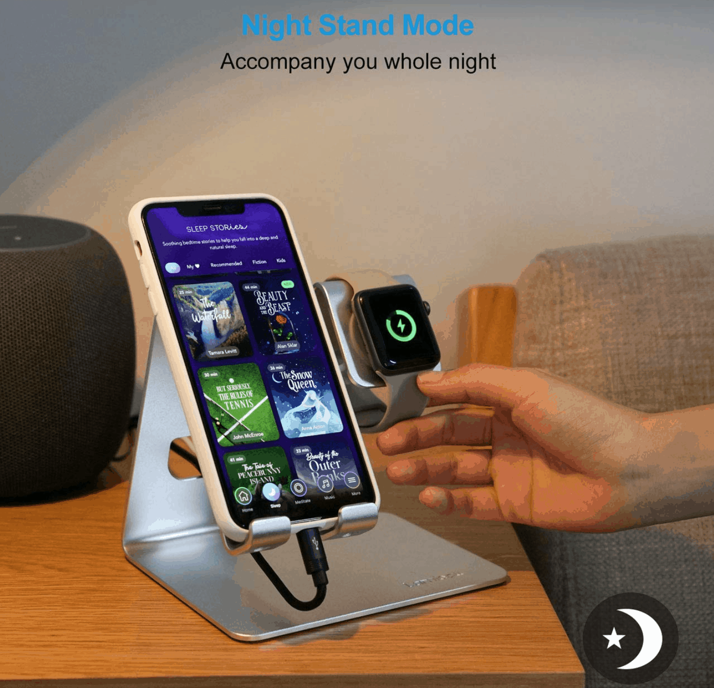 Get $5 Off this Charging Station for Apple Watch and iPhone 1
