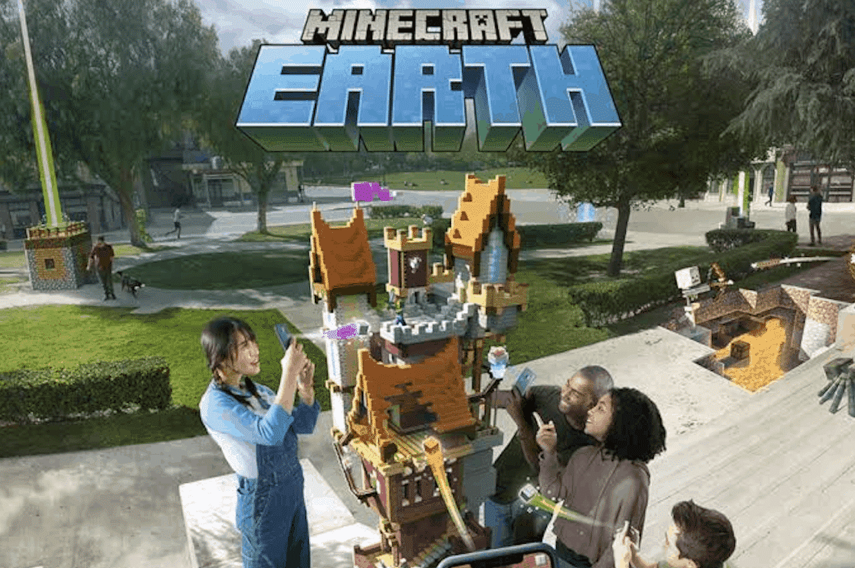 Minecraft Earth Gets Early Access in the U.S