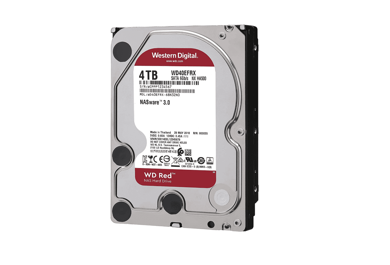 This is the WD Red 4TB NAS Hard Drive.