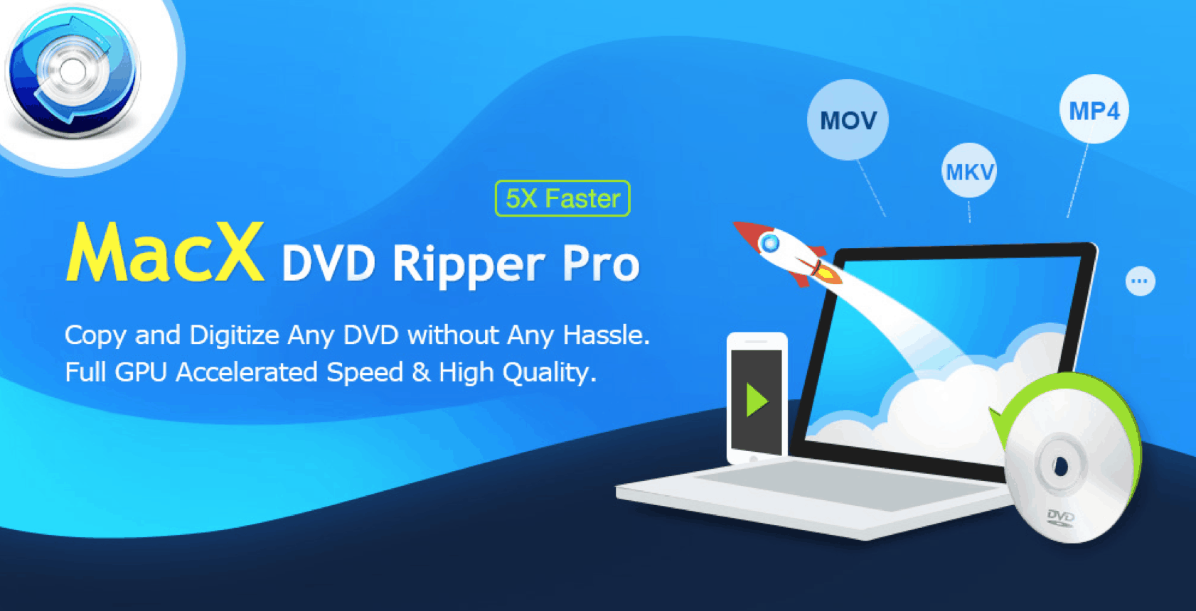 Why Choose MacX DVD Ripper Pro to Convert DVD to MP4 (500 Giveaway Licenses per Day)