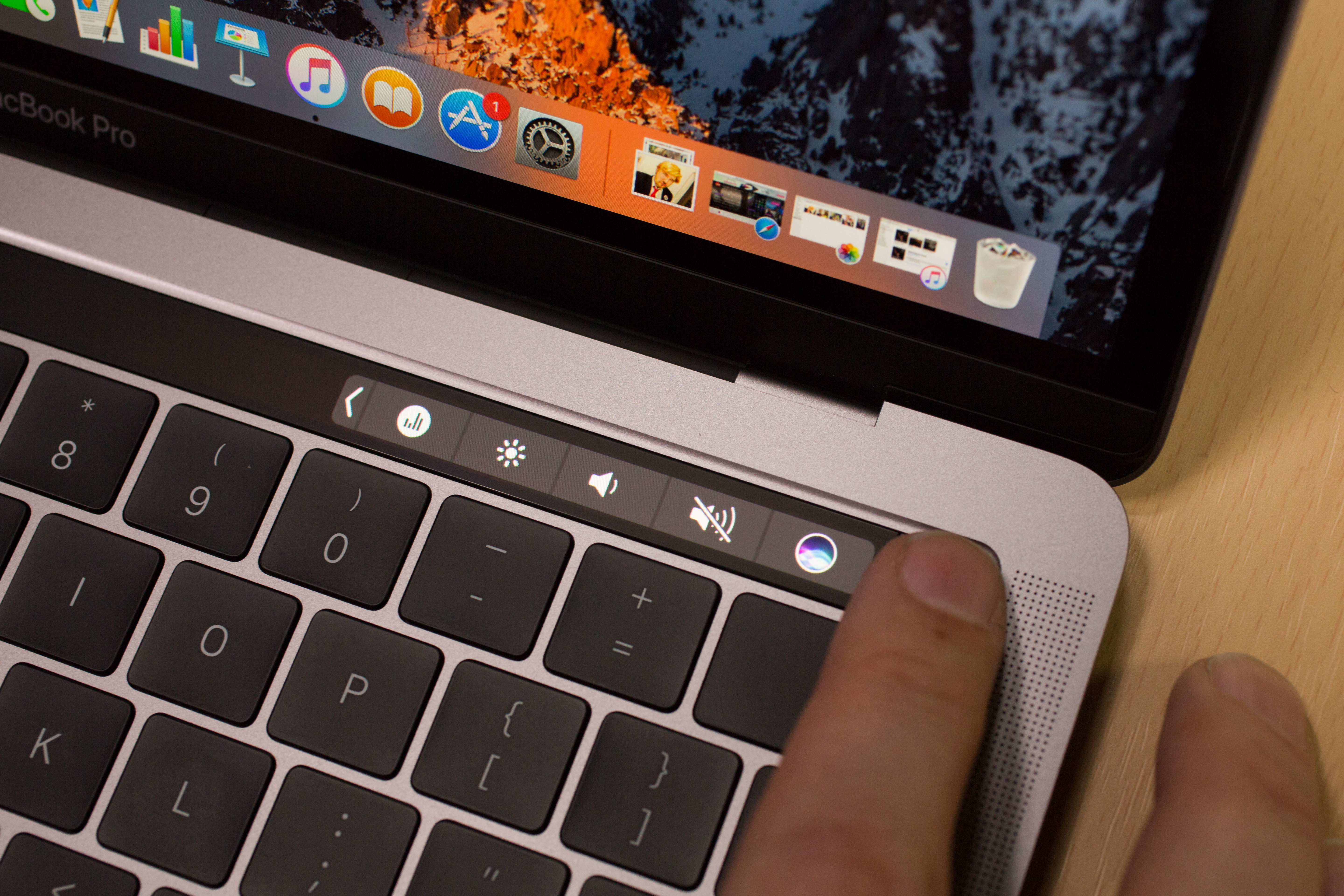 The future of TouchBar on the MacBook Pro 1