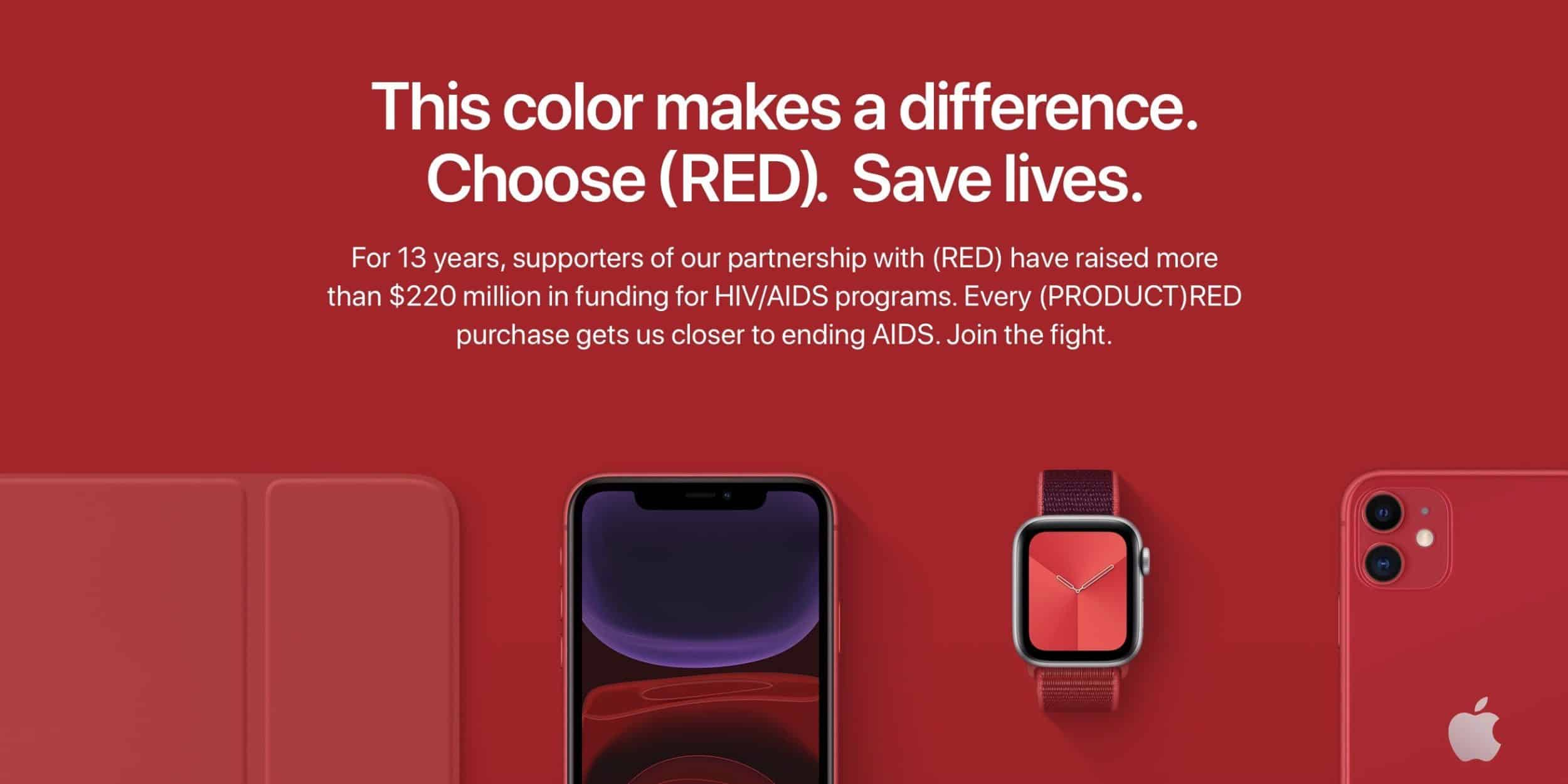 This is the RED Organization banner by Apple.