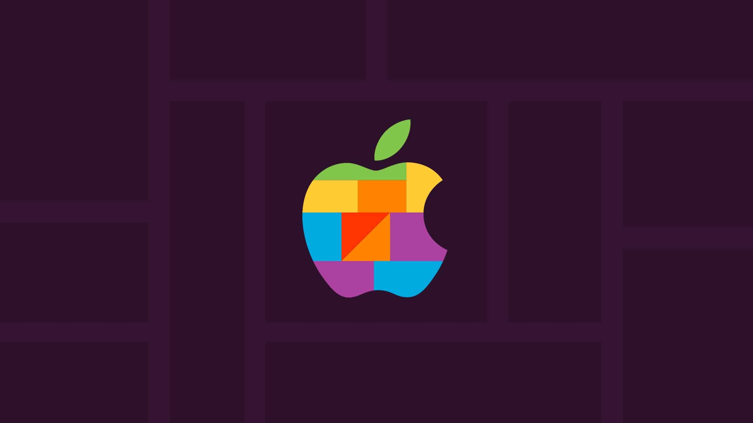 This is the Apple Kawasaki Store logo in Japan.