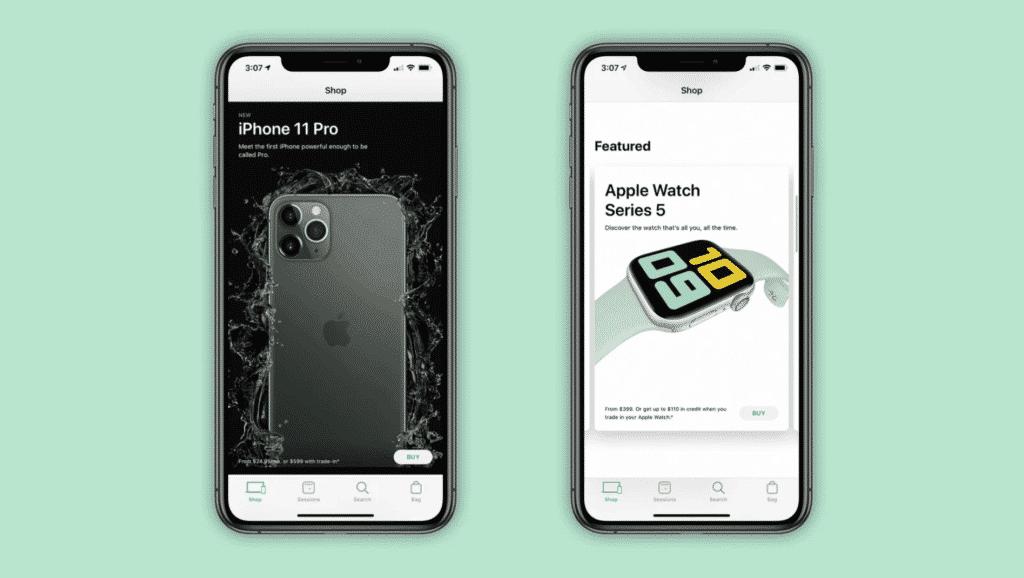 Apple Store App Gets New-Look Shop Tab