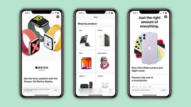 This is the new App store look shop tab.