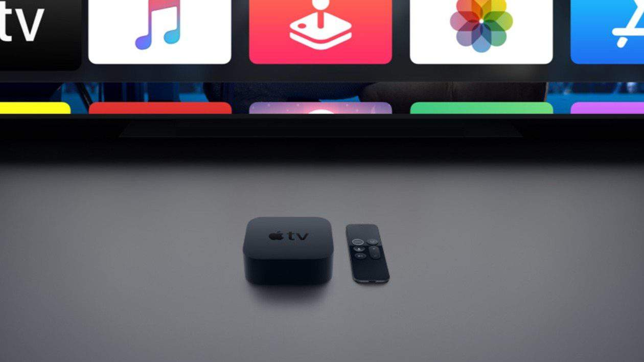 This is the Apple TV 4K that is included with Vodafone UK packages.