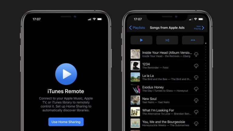 Catalina and Dark Mode Added to iTunes Remote App
