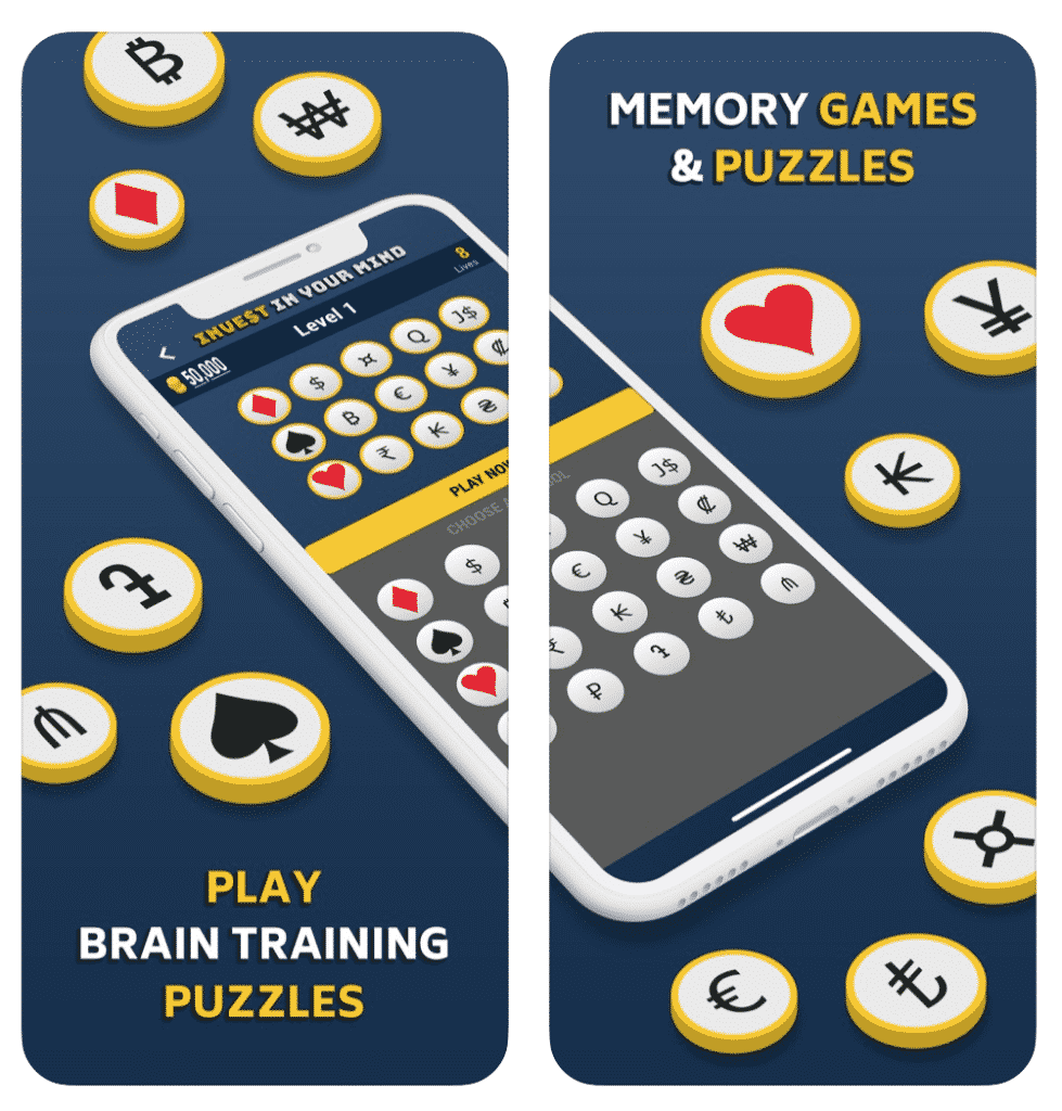MoneyBall app memory games