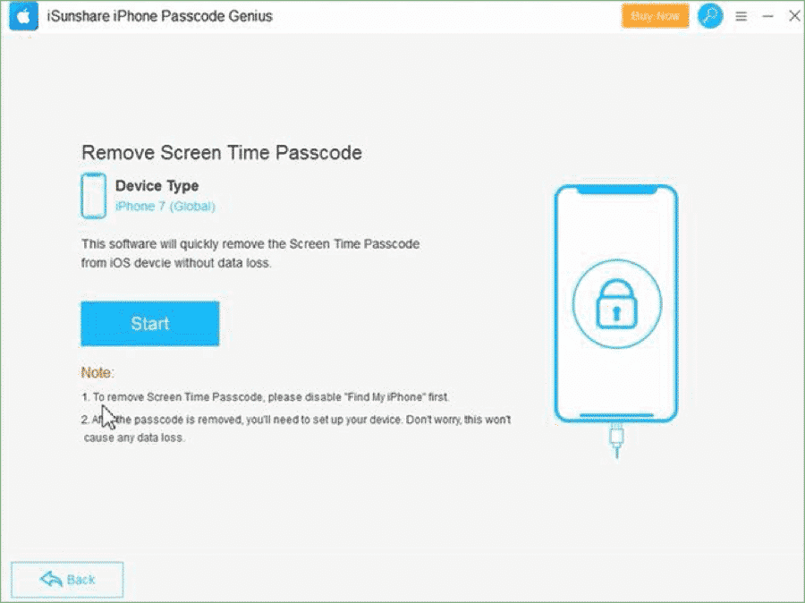 iSunshare iPhone Passcode Genius for Windows –Unlock iPhone without Passcode