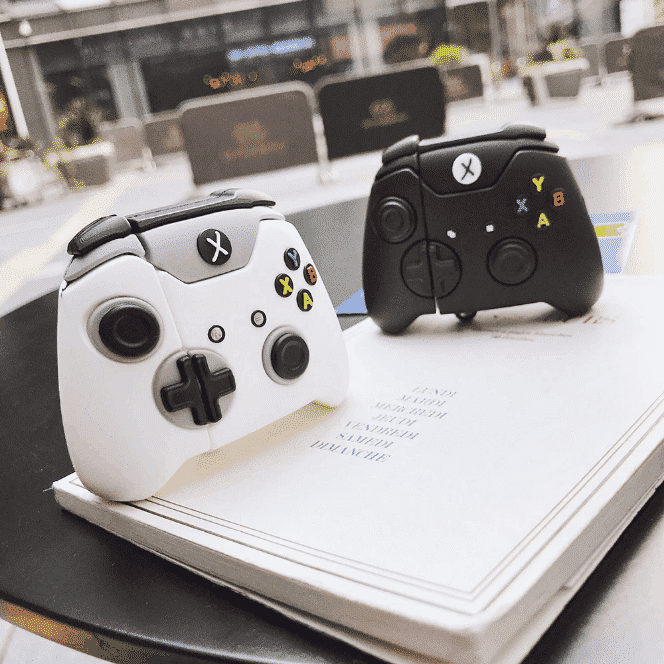 This is a Gaming Protective case for the AirPods Pro.