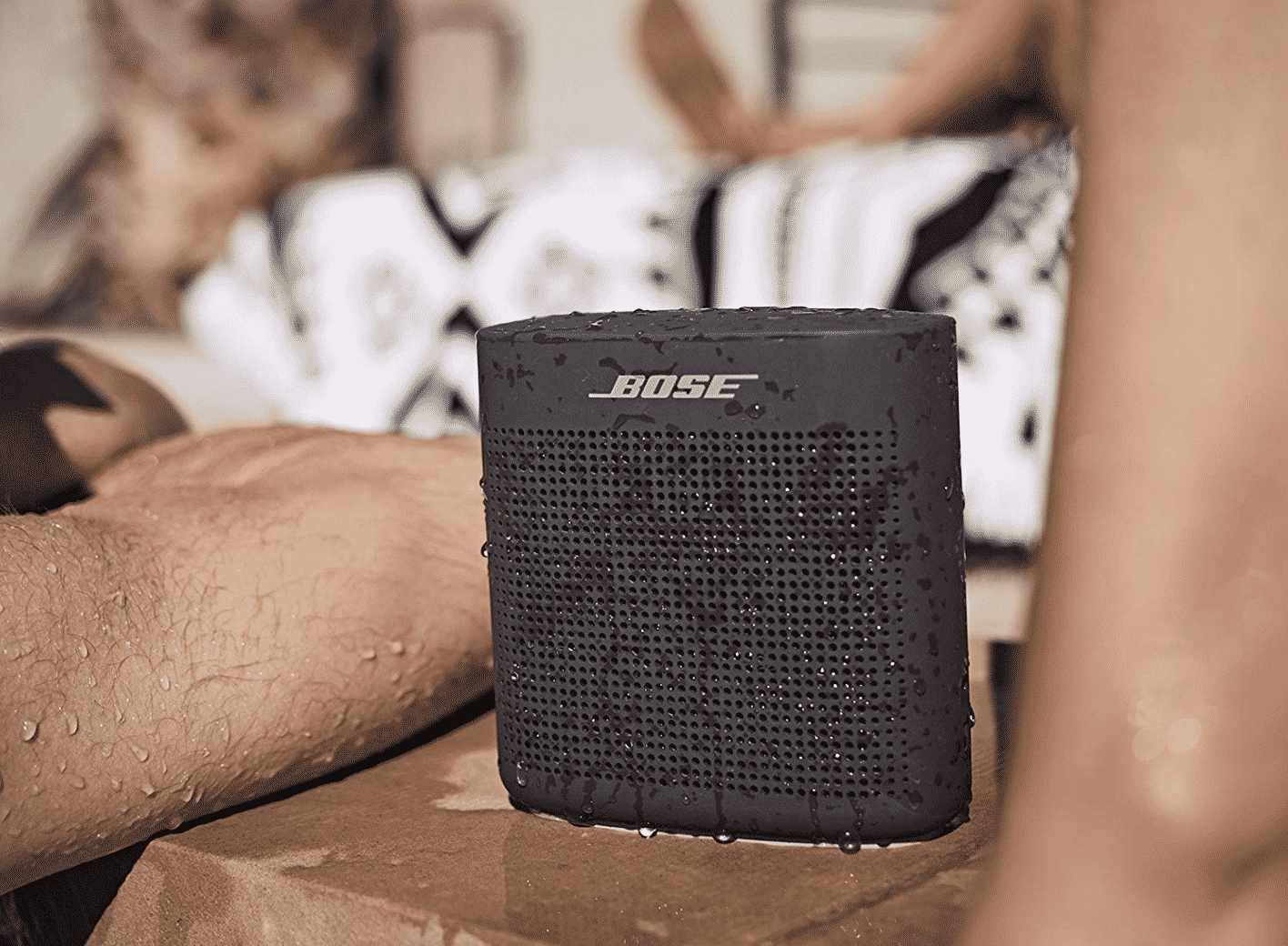 This is the Bose SoundLink Color Bluetooth Speaker II.