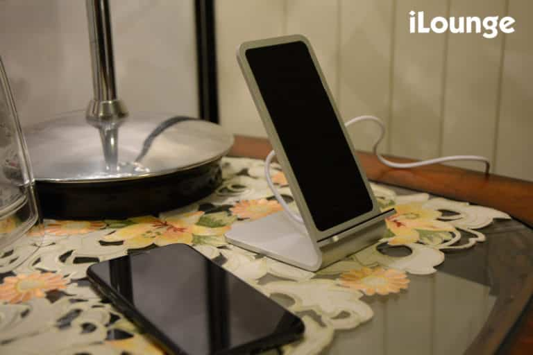 This is the original Gravity Lift Wireless Charging Stand by FuseChicken.