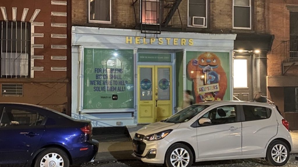 NY Pop-Up Location Opened To Promote Apple TV+ Series 'Helpsters' 1