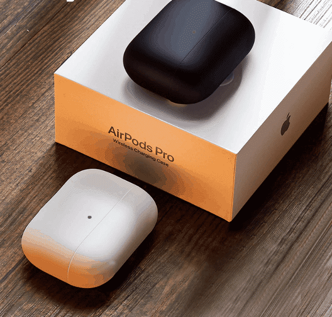 This is Matte Silicone case for the AirPods Pro.