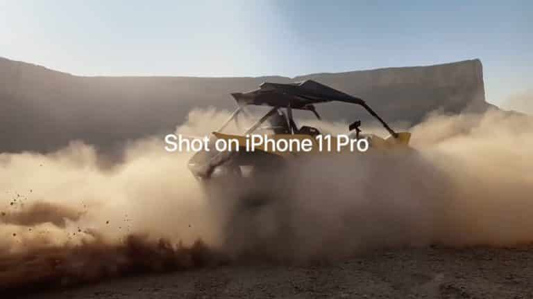 This is the Saudi Desert Riders video that was shot on an iPhone 11 Pro.
