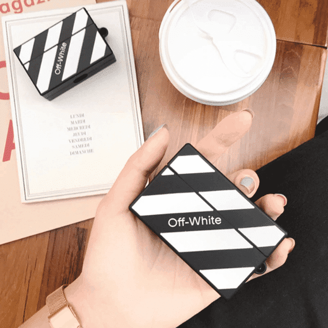 off white airpods pro case