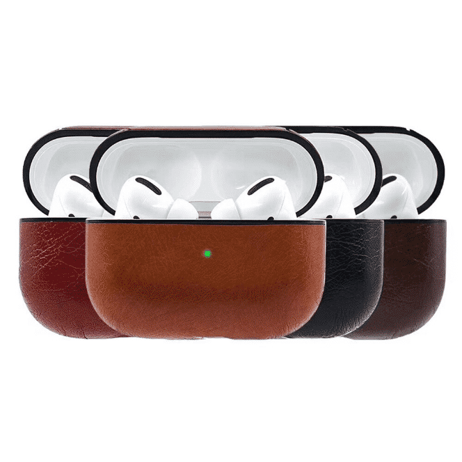 AirPods Pro case leather