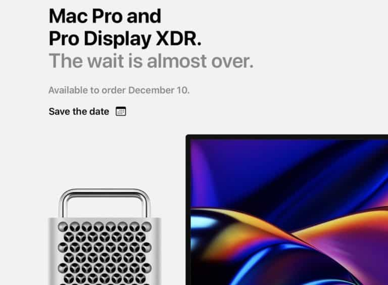 Pro Display and Mac Pro to Launch December 10