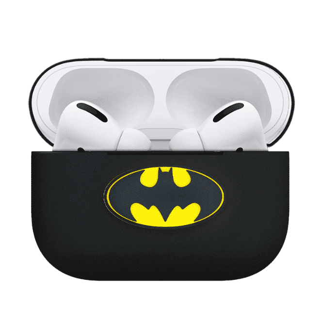 This is a Superhero Silicone case for the AirPods Pro.