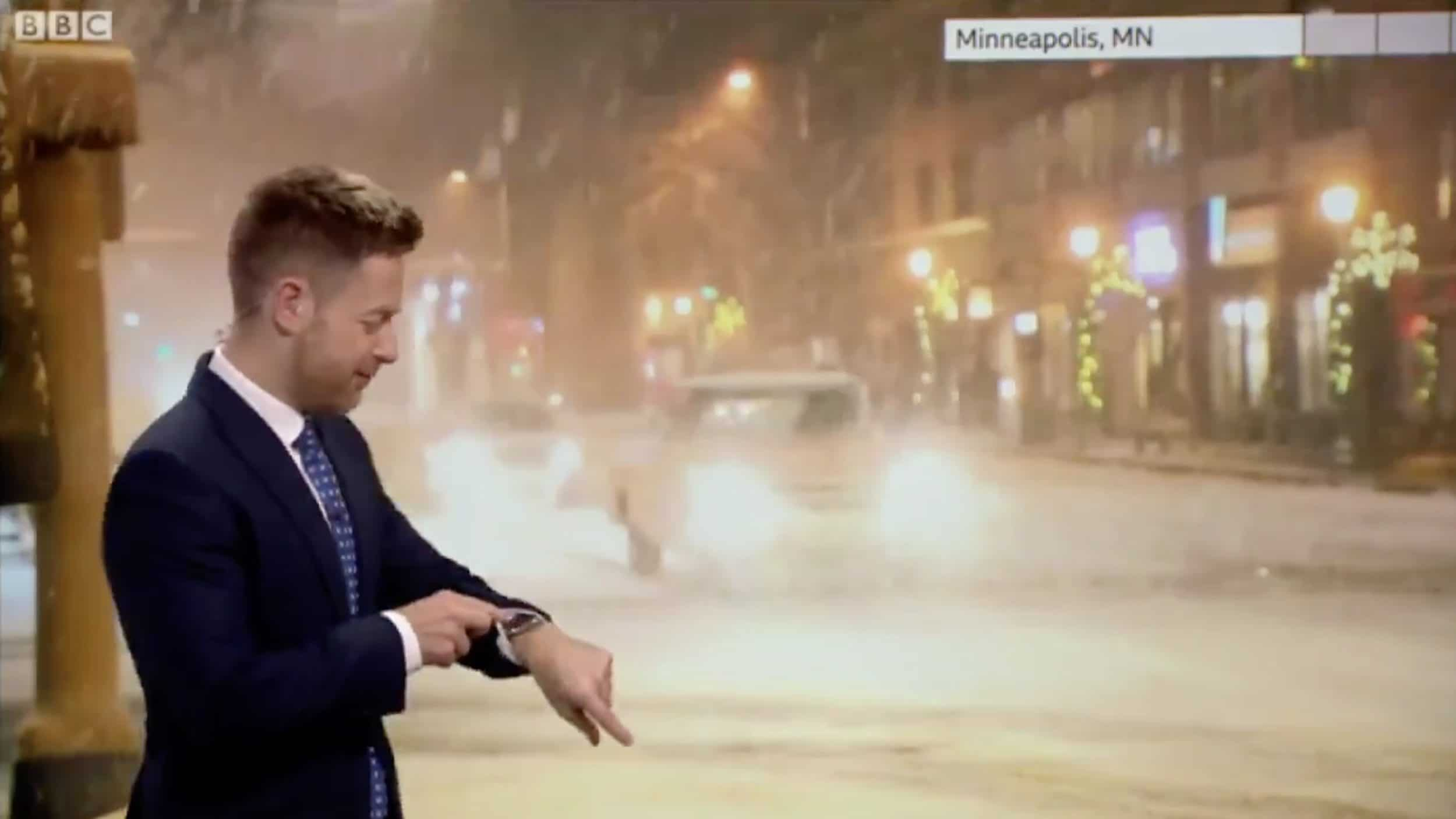 This is the weather guy on TV with Siri issue.