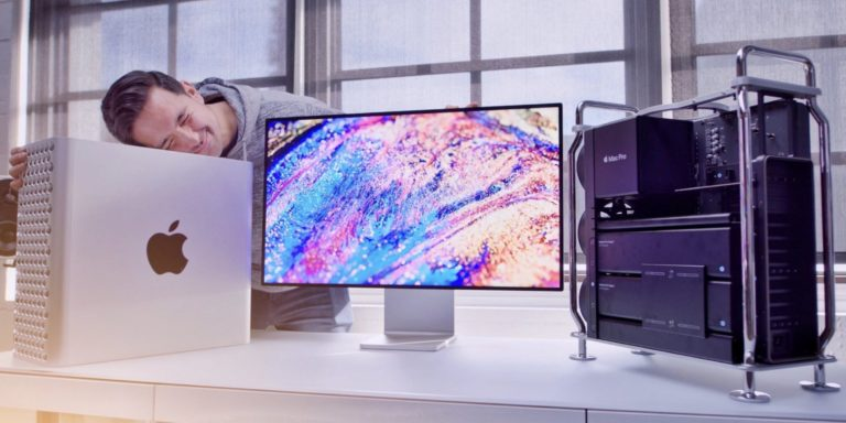 This is the Mac Pro computer by Apple.