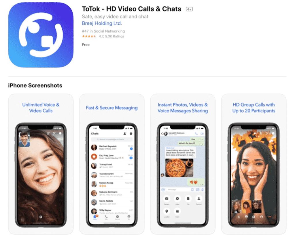 Totok App Spy