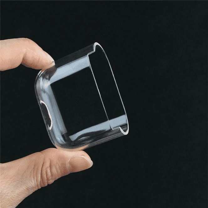 This is a Transparent Clear case for the AirPods Pro.