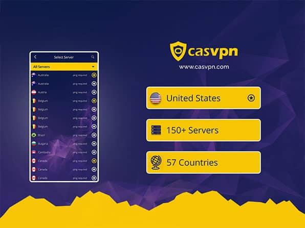 CasVPN servers