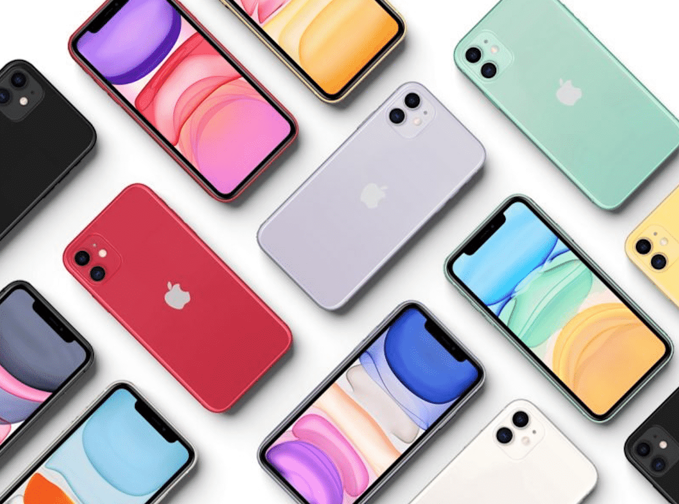 This is the iPhone 11 device by Apple.