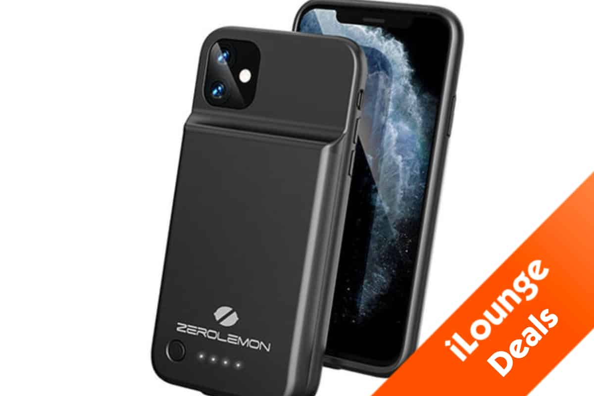 This is the iPhone 11, iPhone 11 Pro and iPhone 11 Pro max battery case by SlimJuicer.