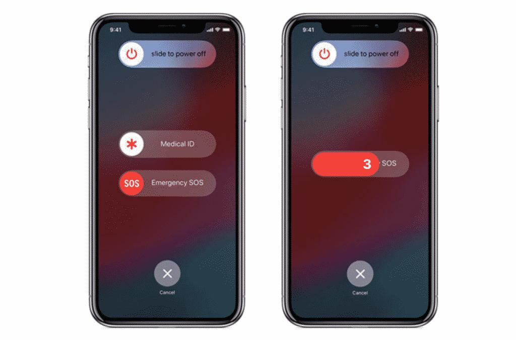 iPhone Emergency SOS
