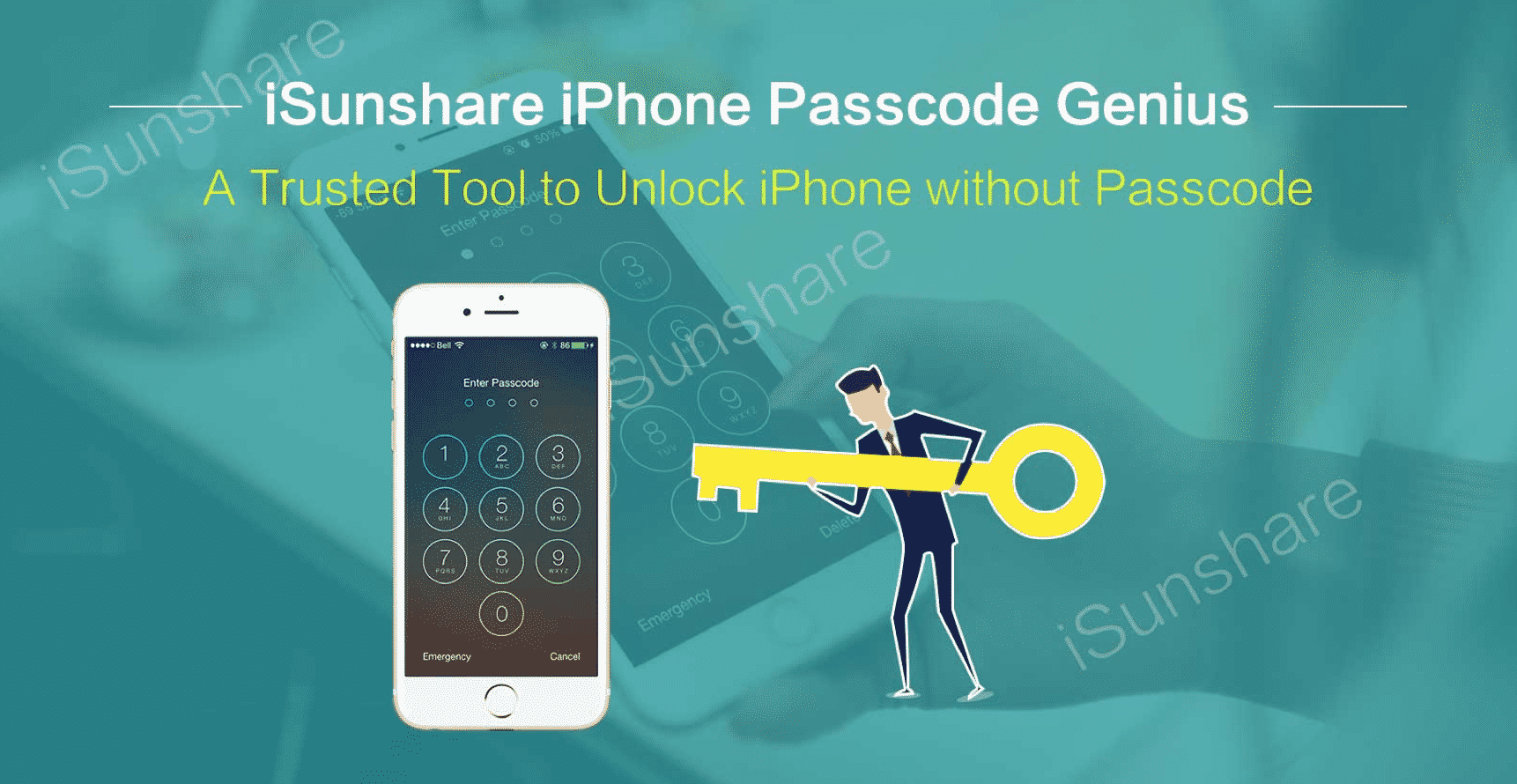 iSunshare iPhone Passcode Genius for Windows --Unlock iPhone without Passcode