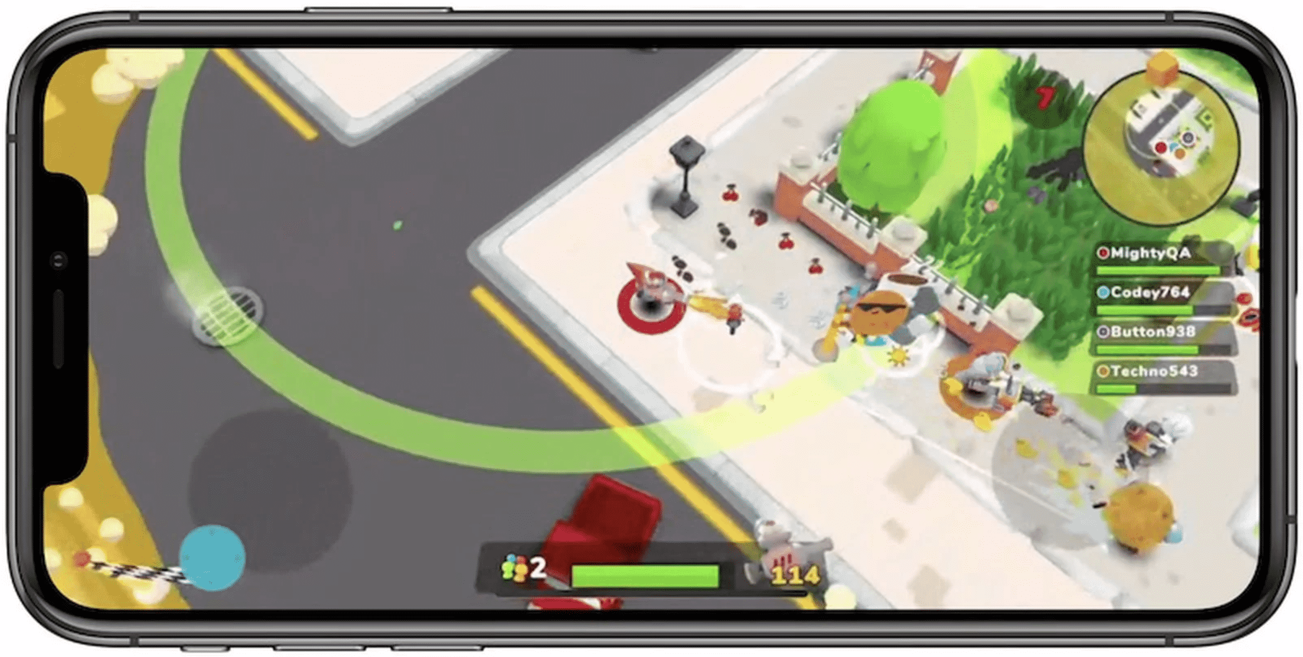 Apple Arcade game 'Butter Royale' now available