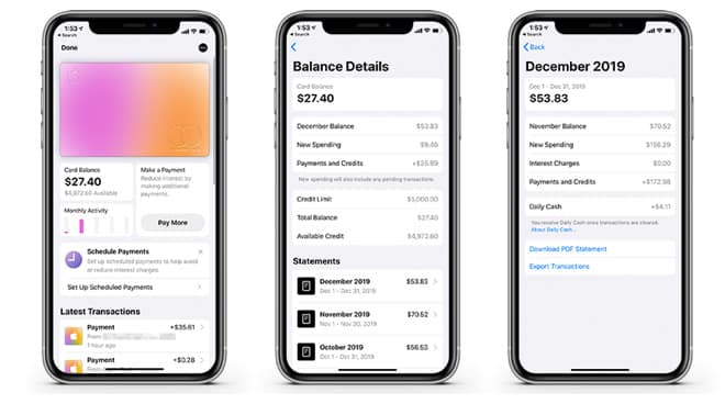 Apple Card update now allows exporting to budgeting Apps