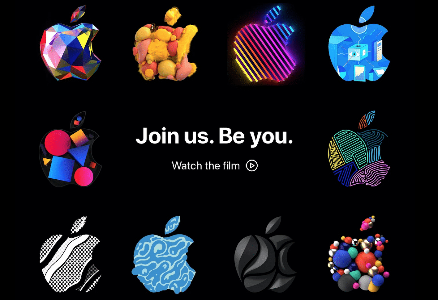 Apple Jobs Website Updated with Animated Logos and New Design