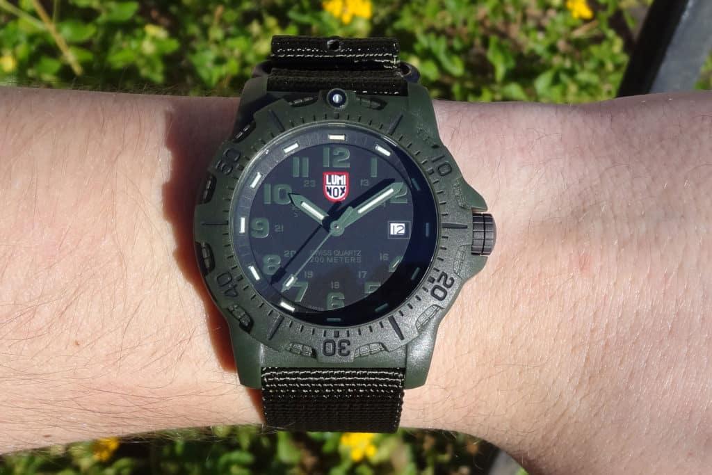 Army Green Luminox Black Ops Watch
