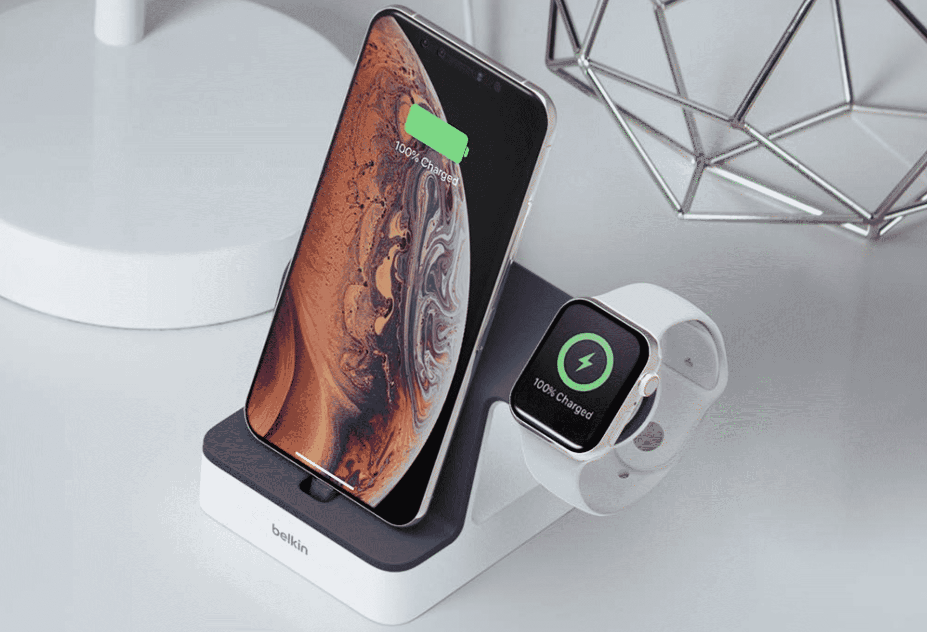 Belkin's Stylish Charging Dock for Your iPhone and Apple Watch is $20 Off