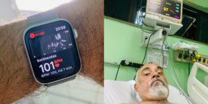 Brazilian Man Saved by Apple Watch 5 After Elevated Heart Rate Notification