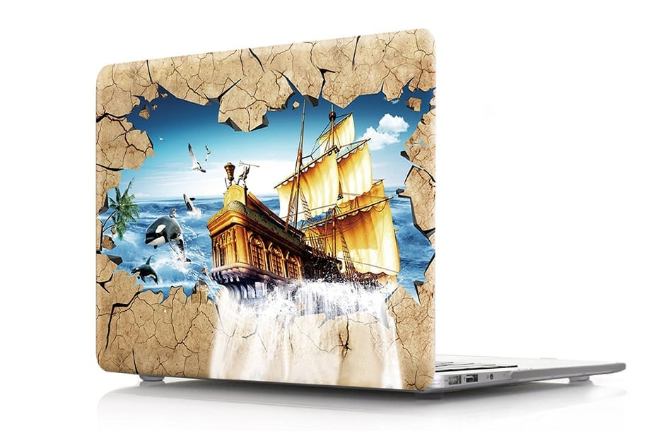 HD Pattern Hard Case for MacBook Pro 2019 13 inch