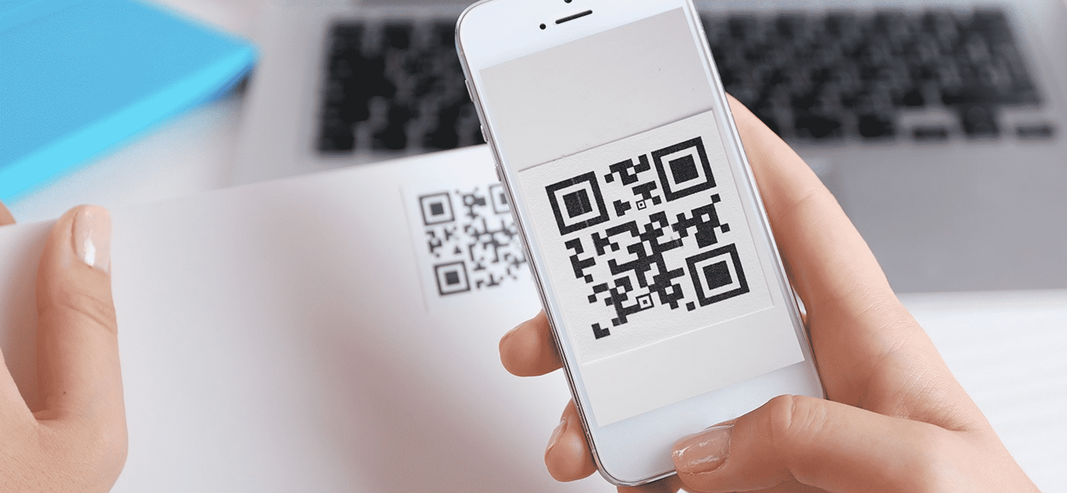 How To Use The Native QR Code Reader On iOS Devices