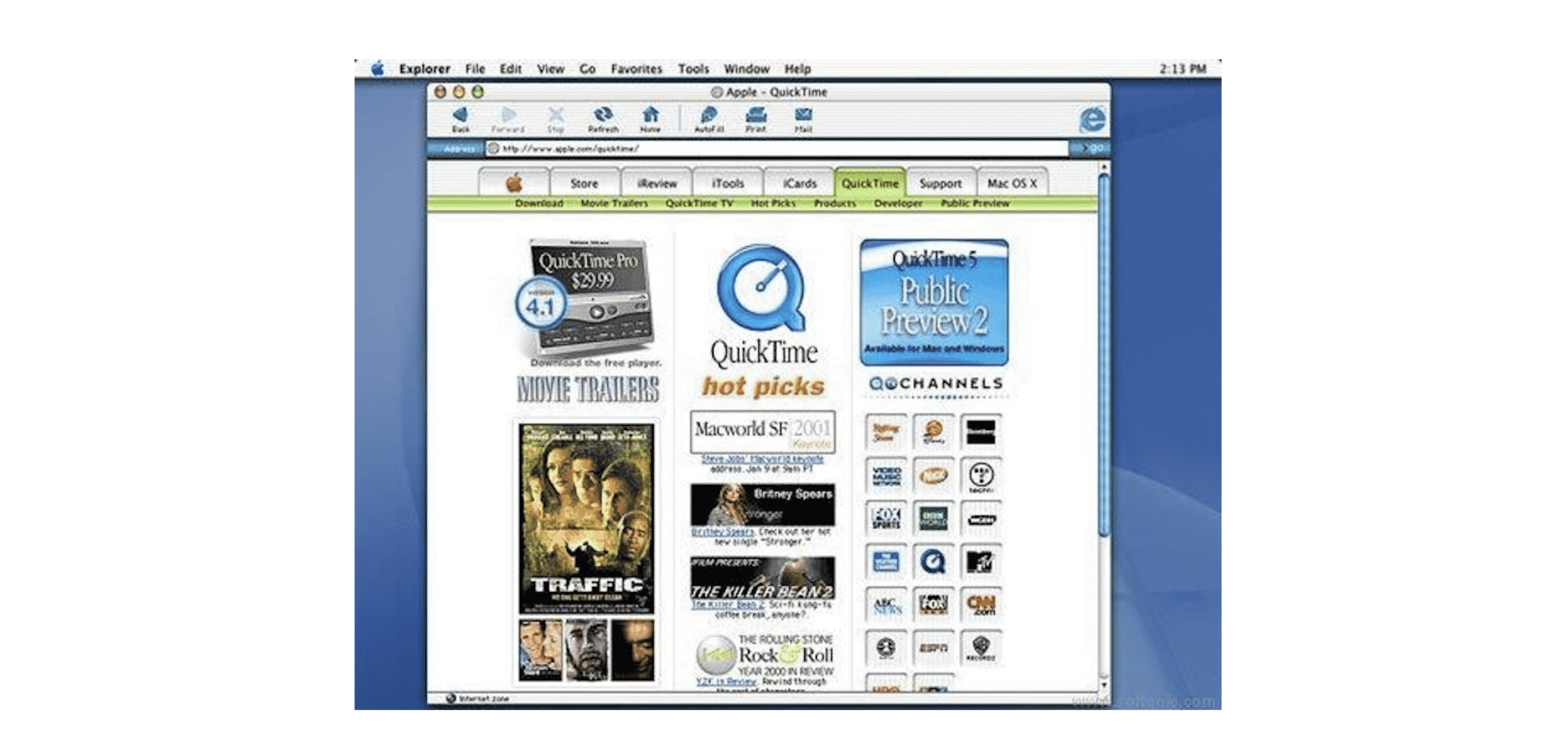 Internet Explorer for Mac Highlighted On Its 20th Year